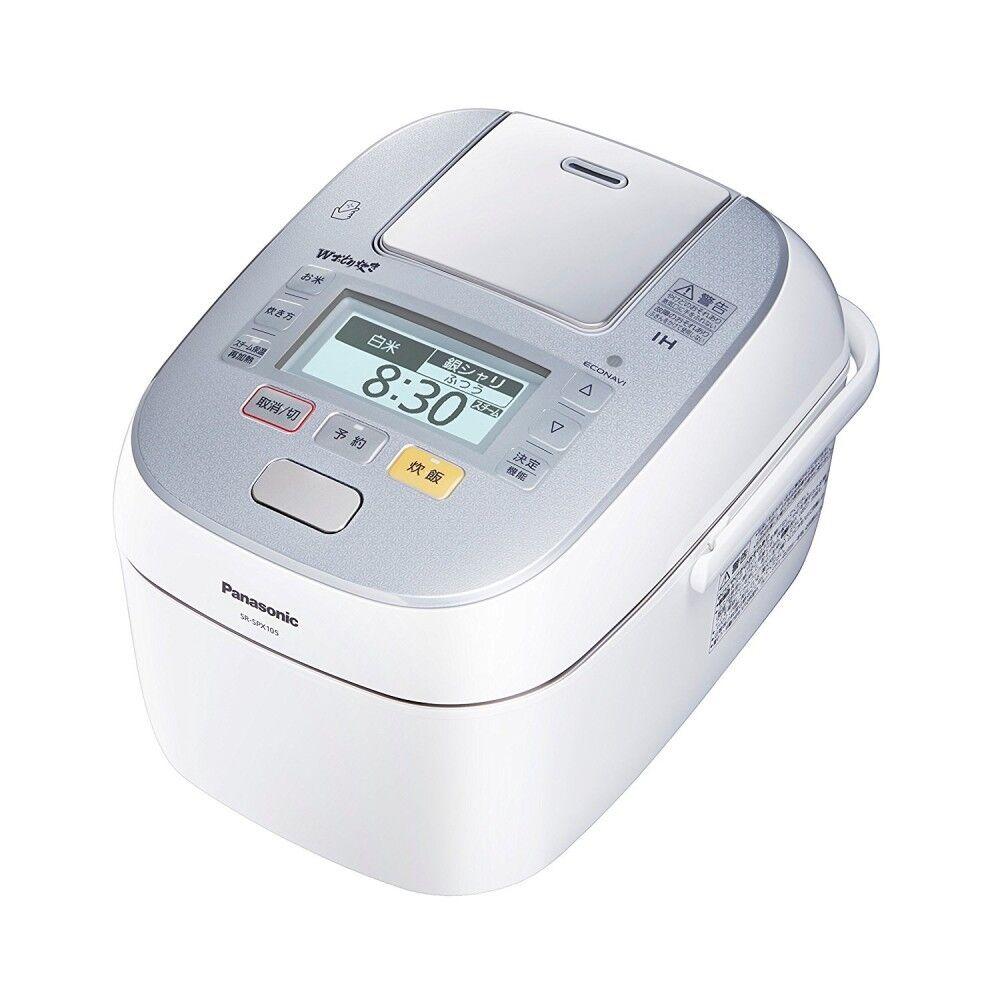 Panasonic Pressure IH Rice cooker blanc SR-SPX105-W 1L SRSPX105W sushi AC100V