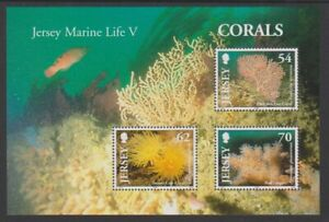 Jersey-2004-Coraux-Feuille-MNH-Sg-MS1169