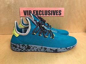 e393aaf740b Image is loading Adidas-Pharrell-Williams-Tennis-HU-Teal-Human-Race-