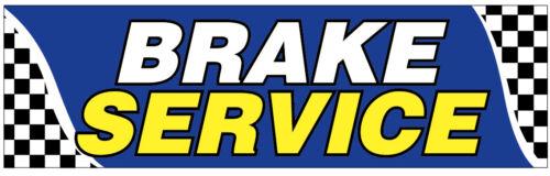 bb 4x12 ft BRAKE SERVICE Vinyl Banner Sign New