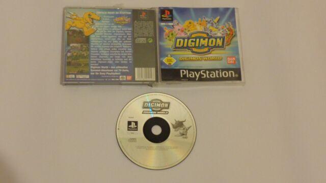 Digimon World ps1 spiel Sony PlayStation 1, 2002 Cd Neuwertig