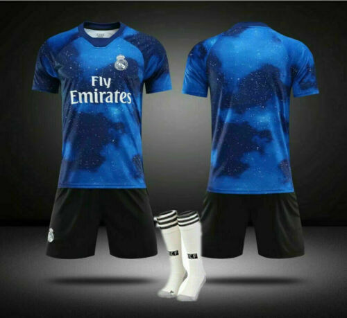 Custom Football Outfit Adult Kids Soccer Suits Training Jerseys Kits Socks