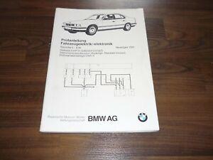 BMW-5er-E34-Elektronik-Getriebe-5-HP18-Pruefanleitung-Diagnose-WERKSTATT-HANDBUCH