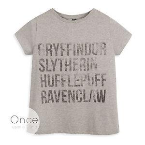 Harry Potter TITLES Licensed Women/'s T-Shirt All Sizes