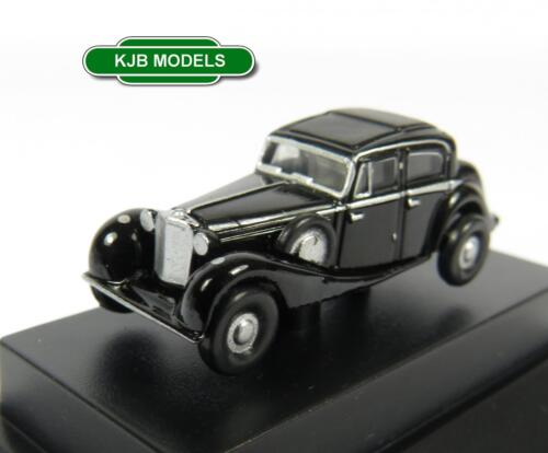 BNIB N GAUGE OXFORD DIECAST 1:148 NJSS002 BLACK SS JAGUAR