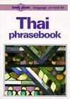 Thai Phrasebook by Joe Cummings (Paperback, 1995)