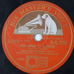 78-record-in-frame-BIRD-SONGS-AT-EVENTIDE-BLESS-THIS-HOUSE-john-mccormack
