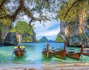 Puzzle 1500 pieces 68*47cm. BEAUTIFUL BAY IN THAILAND Castorland C-151936