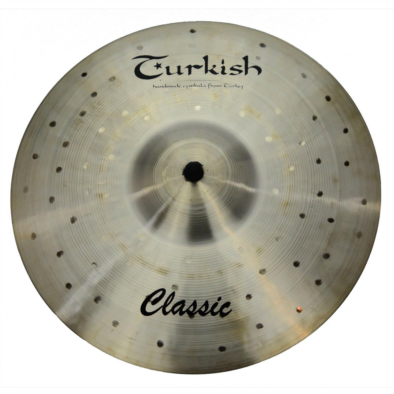 TURKISH CYMBALS cymbale Classic 12  Splash 468g