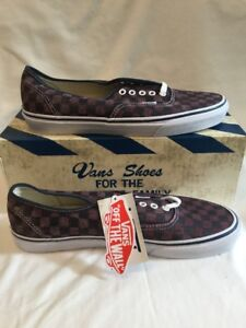efe1836b105c Vans Van Doren Unisex Mens Port Royal   Black Check Skate Shoe UK ...