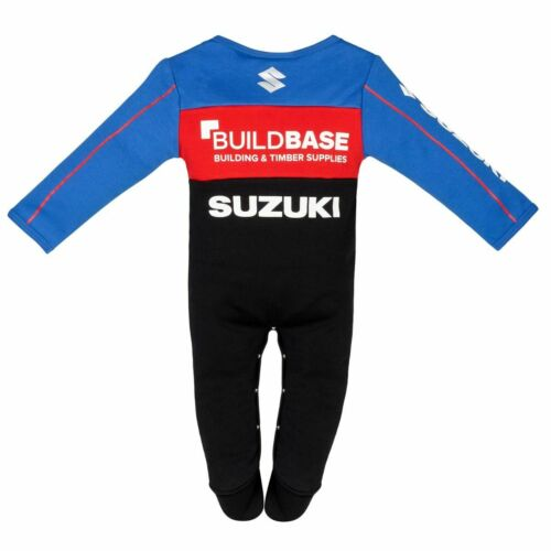 Details about  /Official BUILDBASE SUZUKI RACING BABY GROW 19BSB-BG