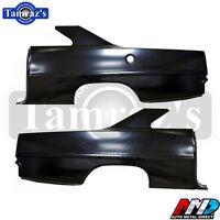 66-67 Chevy Ii Nova Full O.e. Style Rear Quarter Panel W/ Sail - Pair - Amd