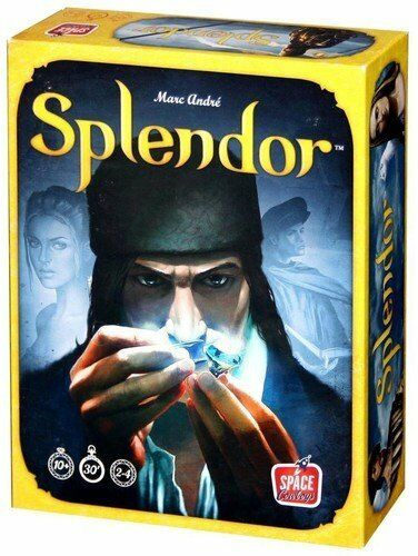 Marc Andre' Splendor Splendor Splendor by Asmodee Board Game of the Year 2-4 players Age 10+ NEW a70197