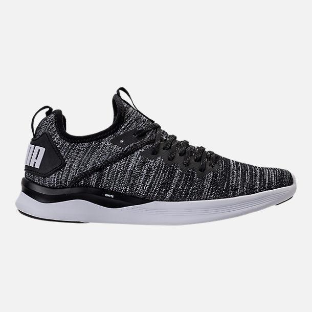 Puma hombre Ignite Flash evoknit nuevos auténticos 190508-02 zapatos negro / asfalto 190508-02 auténticos 4dd153