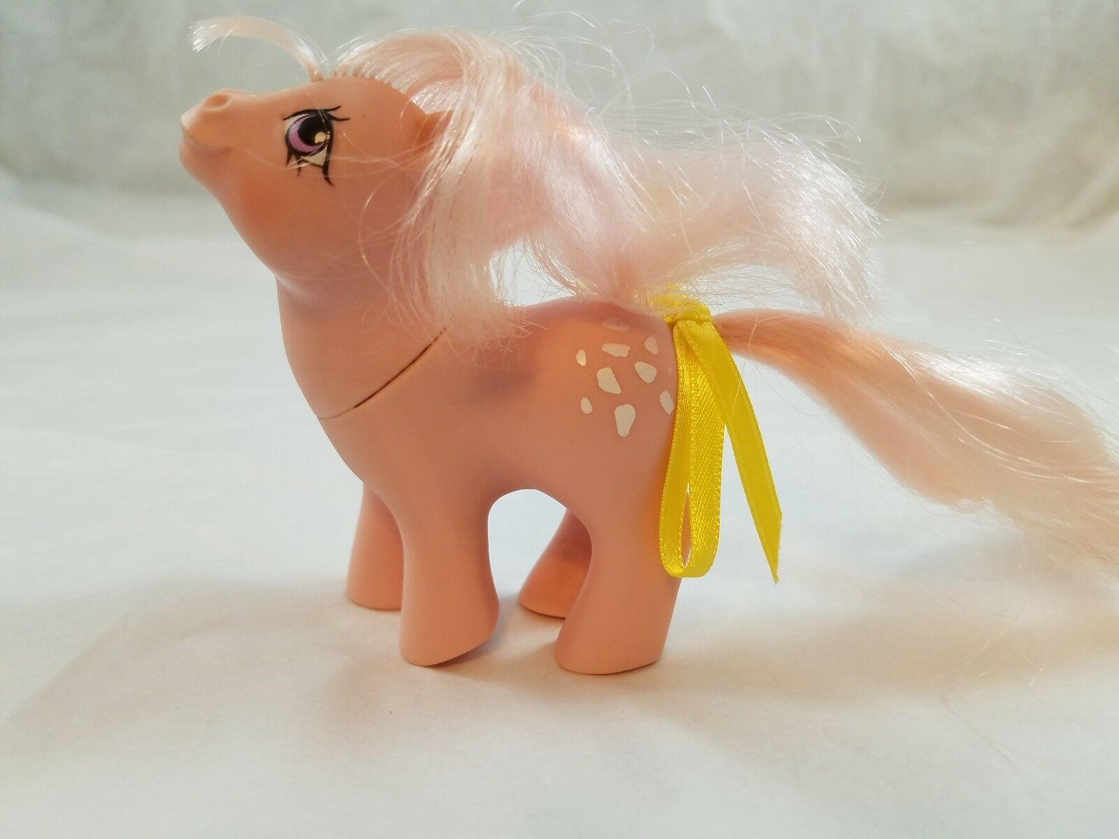 My Little Pony Vintage Ponies G1 Baby Cotton Candy original 1984 (yel)