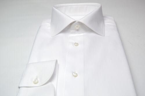 Brioni overhemd 100katoen Maat 15 White Nieuw 39 Euse48 5 us hsdtQrC