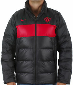 bf9dc127d46f Image is loading NIKE-OFFICIAL-MANCHESTER-UNITED-MENS-WINTER-PUFFER-JACKET-