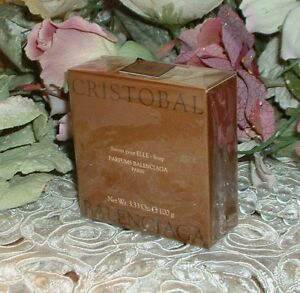 CRISTOBAL-Balenciaga-3-33-oz-100g-Perfumed-Soap-Savon-New-in-Box