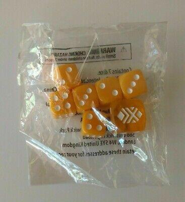 OtBG Sun Moon Orange Dice D6 Damage Counter Pokemon TCG Official Sealed NEW