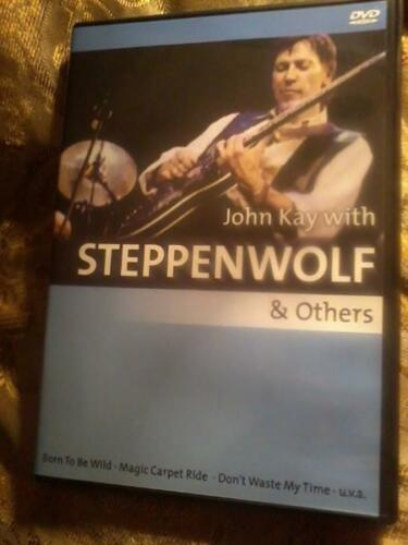 1 of 1 - JOHN KAY with STEPPENWOLF & others DVD New & sealed POST FREE