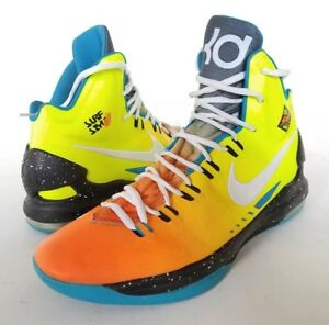 fed0c4544ee 2012 Nike Zoom Kevin Durant KD V 5 Size 12 Surf Style Customs by ...