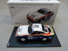 Porsche 959/50 Rally Dakar Raid 2nd 1986 #185 TSM Model 1:18 Modellauto