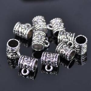 20pcs-9x7mm-Mug-Shape-Tibetan-Silver-Metal-European-Charms-Loose-Big-Hole-Beads