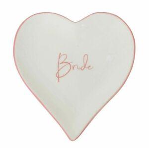 BRIDE-HEART-TRINKET-PLATE-WEDDING-RING-BOX-DISH-ENGAGEMENT-LOVE-proposal-groom