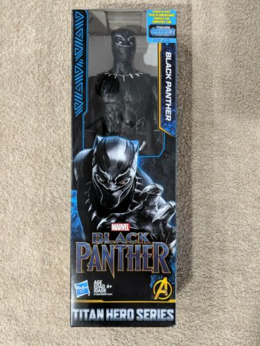 "NEW Marvel Avengers Titan Hero Series Black Panther 12/"" 12-Inch Figure NIB"