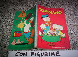TOPOLINO-LIBRETTO-N-251-ORIG-MONDADORI-DISNEY-1960-BOLLINO-FIGURINE-E-RIVAROSSI