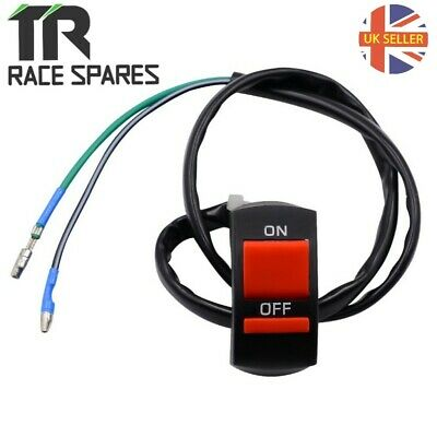 """Motorcycle ATV Race Bike Toggle Ignition Switch 7//8/"""" 22mm"""