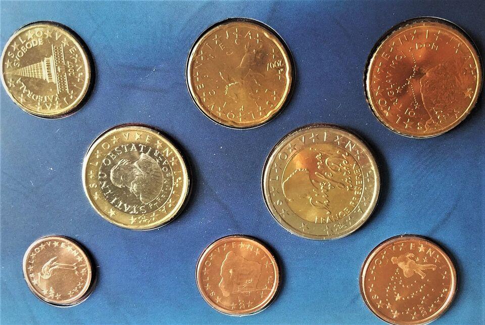 Euro, mønter, €3.88