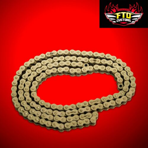 GSXR 1000 Gold chain 150 link-530 O-Ring Chain For  Swingarm Extensions