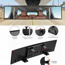 12 Wide Angle Universal Car Suv Truck Clip On Rear View Mirror Convex Rearview Fits Ford