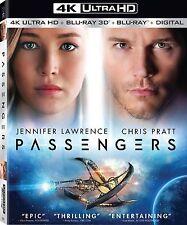 PASSENGERS (Jennifer Lawrence) (4K ULTRA HD) - Blu Ray -  Region free