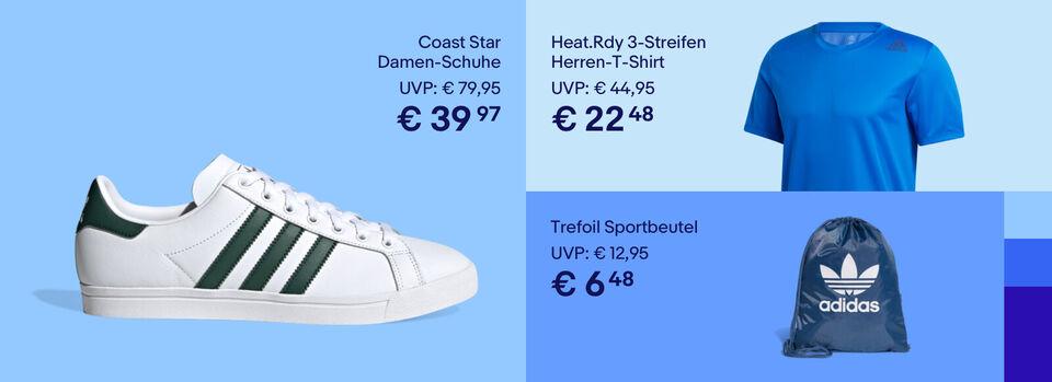 Bis zu 50% Rabatt* auf adidas – Zur Aktion - Bis zu 50% Rabatt* auf adidas