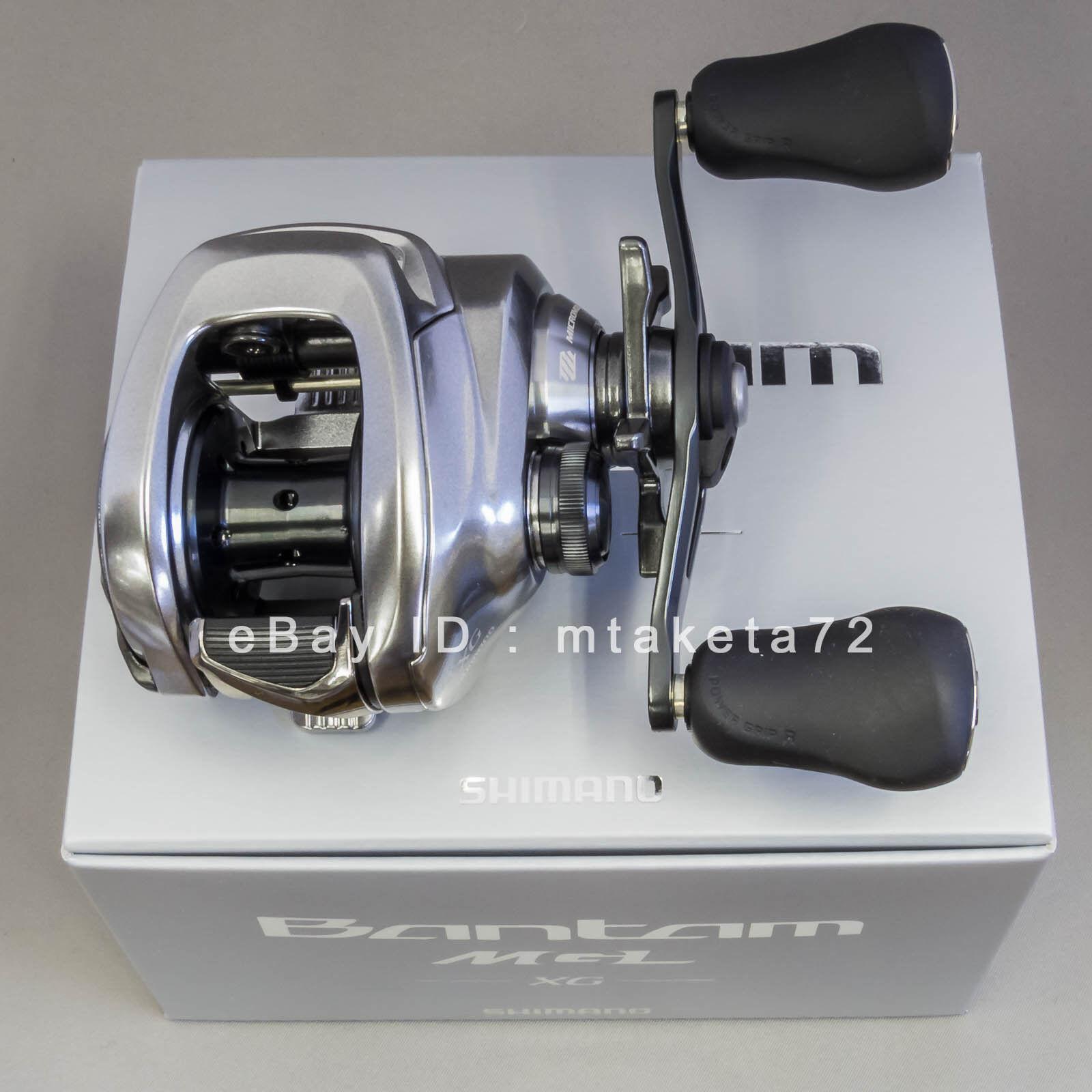 Shimano 2018 Bantam MGL XG, Gear Ratio 8.1 1, Right Handle, Japan Model, 038593
