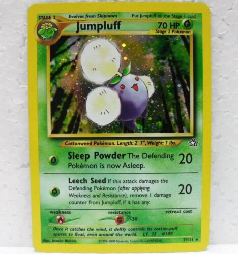 POKEMON NEO GENESIS JUMPLUFF foil 7//111 inglese-MINT//NEAR MINT