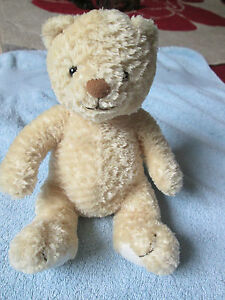 Mothercare-light-brown-golden-teddy-bear-for-baby-girl-boy