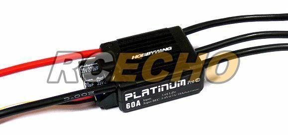 Hobbywing Platinum 60a v4 RC Model brushless motor ESC speed controller sl094
