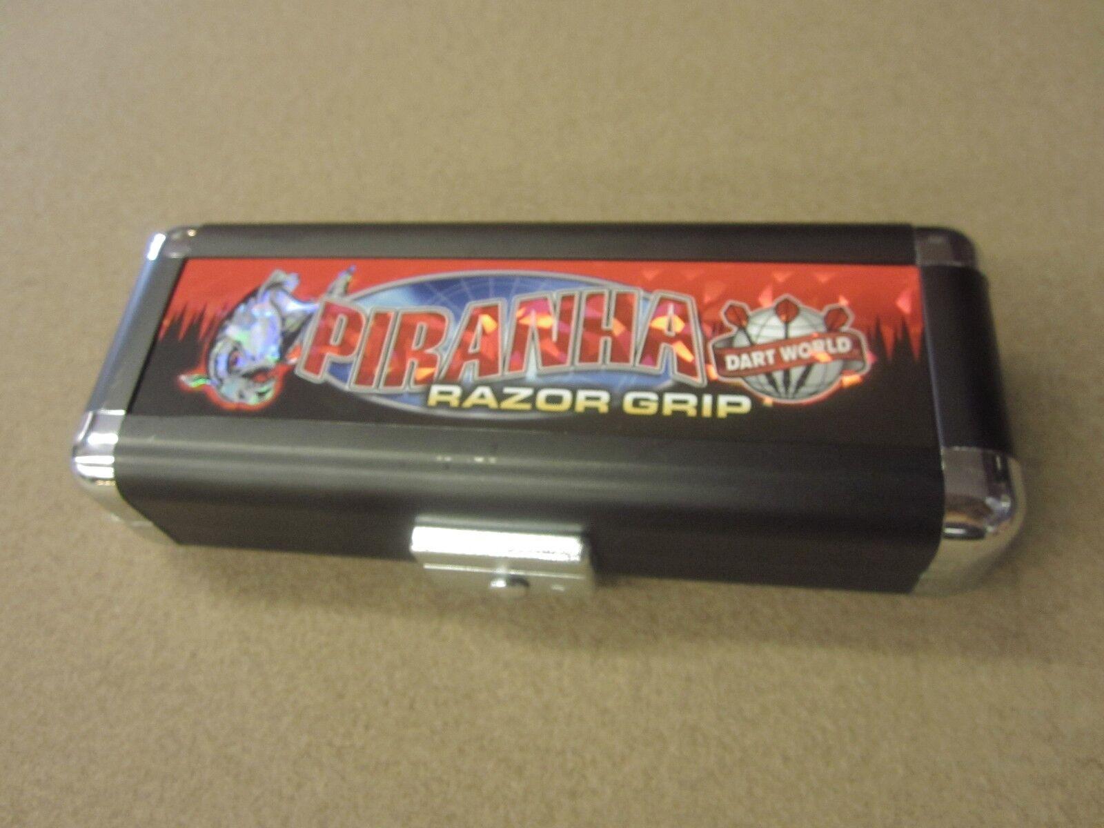 Piranha Razor Darts Grip 26g Steel Tip Darts Razor 90% Tungsten 19517 w/ FREE Shipping e657ee