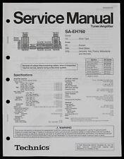 technics sa eh760 stereo power amplifier ebay rh ebay com