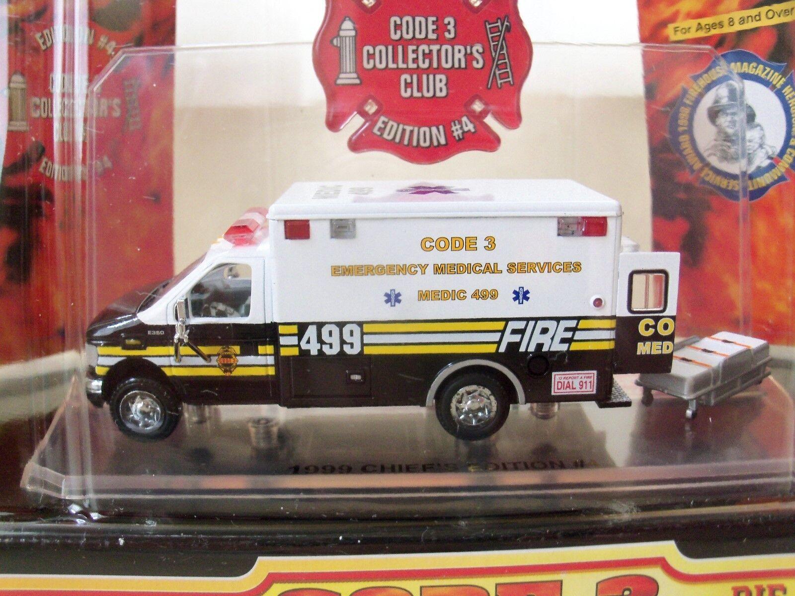 Emergency Services Van Gift #15804 Ambulance Vehicle Classic Fridge Magnet