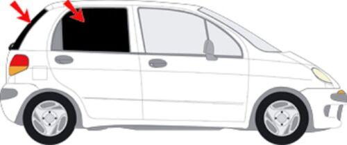 98-05 Sonnenschutz Autosonnenschutz Scheibentönung Sichtschutz Daewoo Matiz Bj