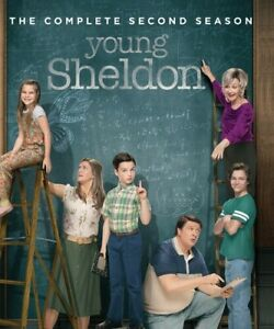 Young-Sheldon-Complete-Second-Season-2-DISC-SET-REGION-A-Blu-ray-New