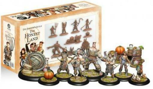 Steamforged Games Guild Ball Farmer's 30mm Honest Land, The Box SW