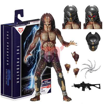 NECA Nouveau DEL Masque Predator Lab Escape fugitif Ultimate Action Figure 2019