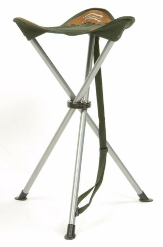 Shakespeare Compact Lightweight 60cm Folding Stool with Shoulder Strap