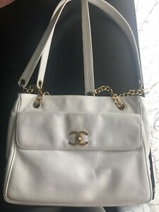 Image Is Loading Authentic Vintage Chanel Handbag