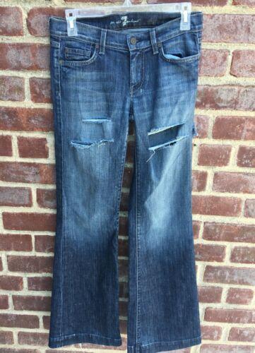 misura All Distressed Mankind Dojo Jeans For 7 27 Flare q0Pwqt4x